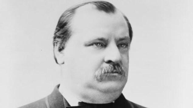Portrait de Grover Cleveland.