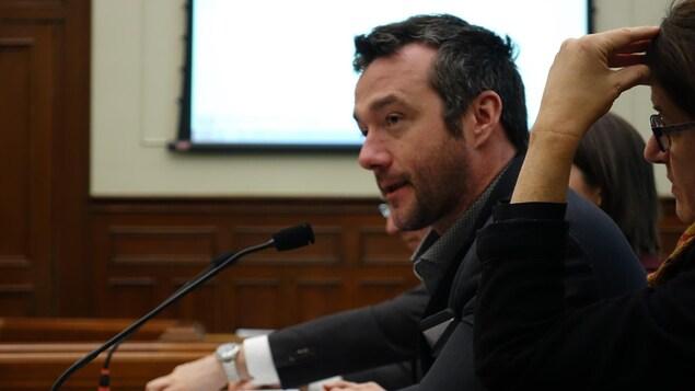 Guillaume Langlois, président de l'entreprise Space&Dream au conseil municipal de Sherbrooke