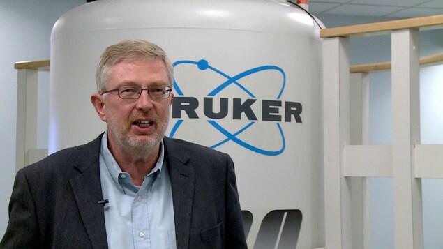 Hans Vogel, professeur à l'Université de Calgary
