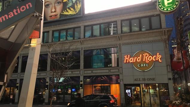 Photo de l'extérieur du Hard Rock Cafe