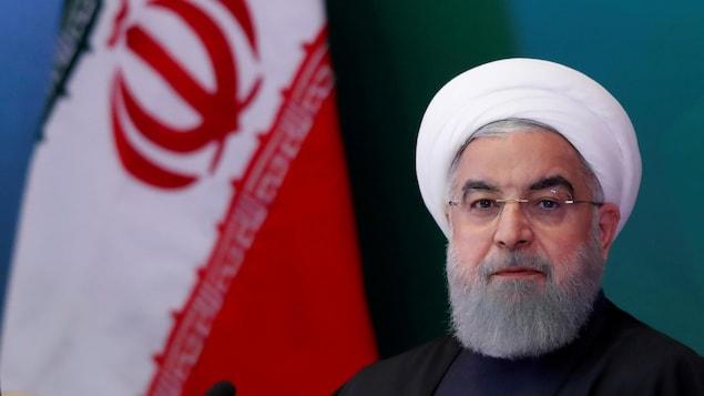 Le président de l'Iran, Hassan Rohani