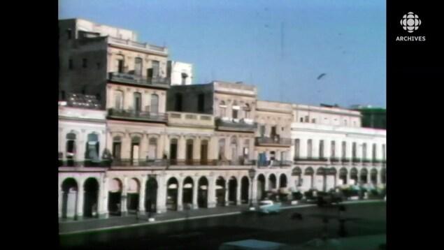 Édifices délabrés à La Havane.