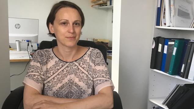 Hélène Bacquet, consule honoraire de France à Rouyn-Noranda.