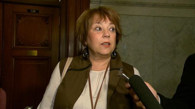 Hélène David, ministre de la Condition féminine du Québec