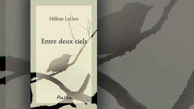 La couverture du recueil «Entre deux ciels» d'Hélène Leclerc