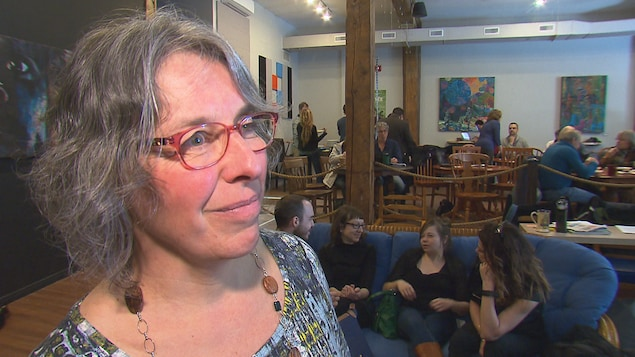 Hélène Pigot, chef du parti municipal Sherbrooke Citoyem