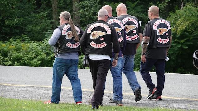 Un groupe de Hells Angels de l'Ontario