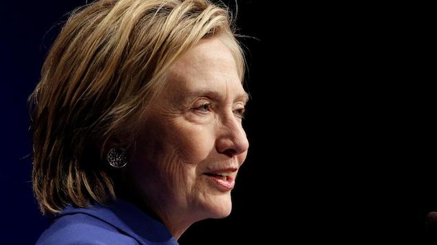 La candidate démocrate défaite à la présidentielle américaine, Hillary Clinton