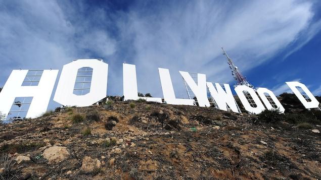 Le panneau Hollywood, à Los Angeles.
