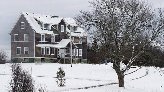Ancien édifice de l'orphelinat Nova Scotia Home for Colored Children.