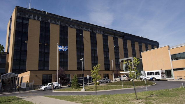 L'hôpital Charles-Le Moyne, à Longueuil.