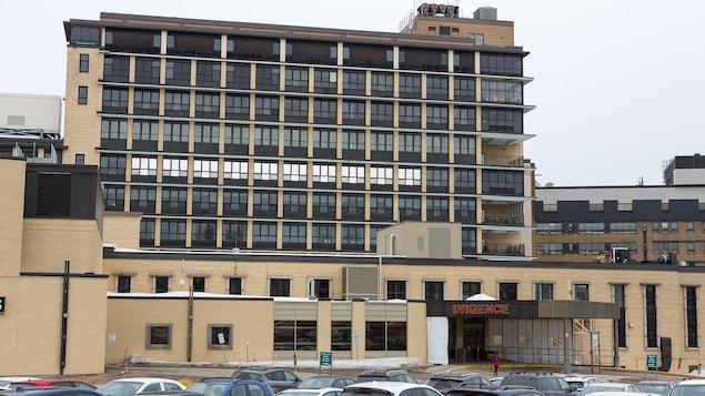 L'hôpital de Chicoutimi.