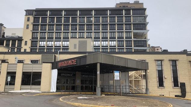 L'urgence de l'hôpital de Chicoutimi.