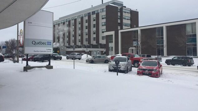 L'hôpital de Rouyn-Noranda