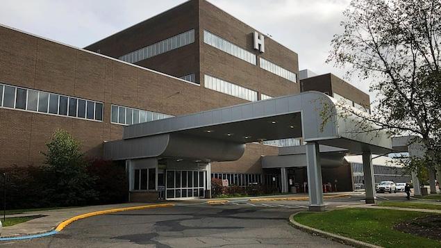 L'Hôpital régional d'Edmundston.