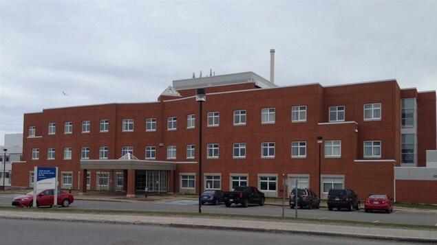 L'hôpital des Îles-de-la-Madeleine.