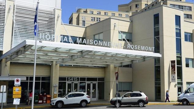 L'urgence de l'hôpital Maisonneuve-Rosemont est débordée.