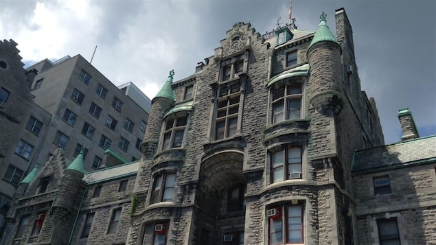 L'hôpital Royal Victoria.