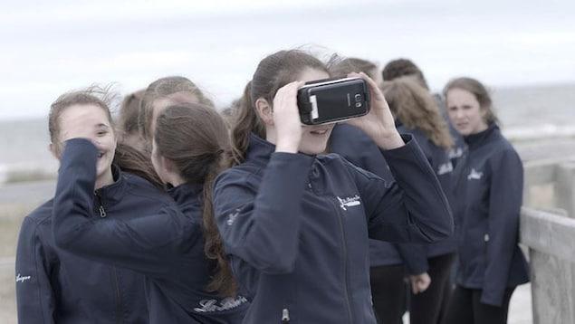 Le film «HORIZON» est offert en réalité virtuelle.