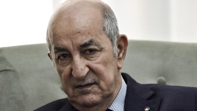 Le chef de l'État algérien Abdelmadjid Tebboune