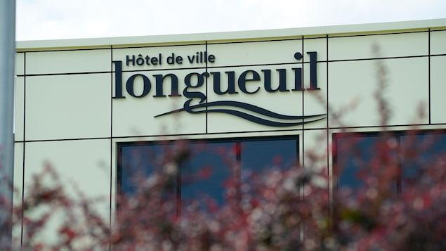 L'hôtel de ville de Longueuil.