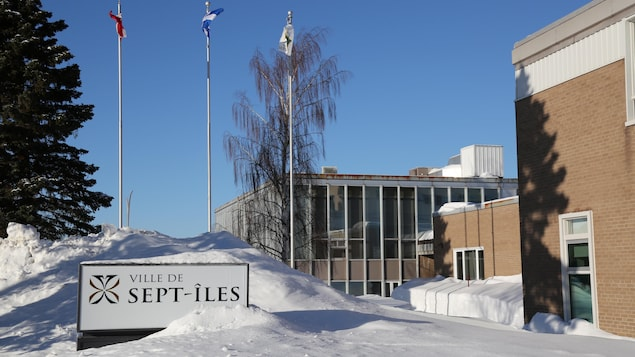L'hôtel de ville de Sept-Îles