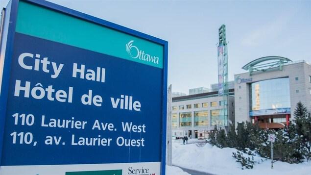 L'hôtel de ville d'Ottawa