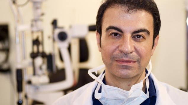 Houfar Sekhavat, ophtalmologiste à Moncton et PDG de Pulmonem.
