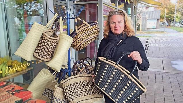 Huguette Barbot, propriétaire du Mother Nature's Market and Deli