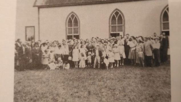 Photo de famille d'époque.