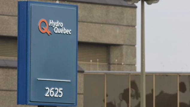 Un bureau d'Hydro-Québec