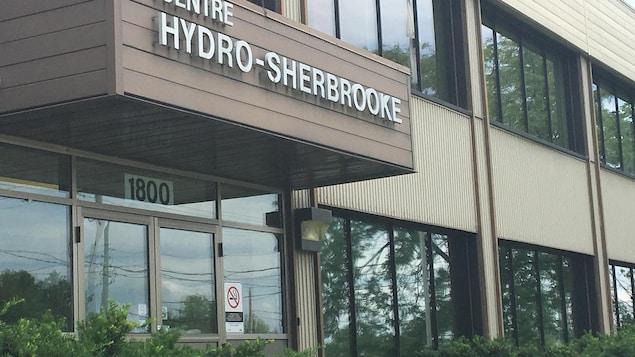 Le centre d'Hydro-Sherbrooke