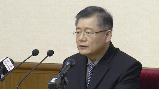 Hyeon Soo Lim à Pyongyang, en Corée du Nord
