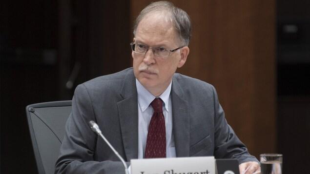 Ian Shugart, greffier du Conseil privé, en commission parlementaire.