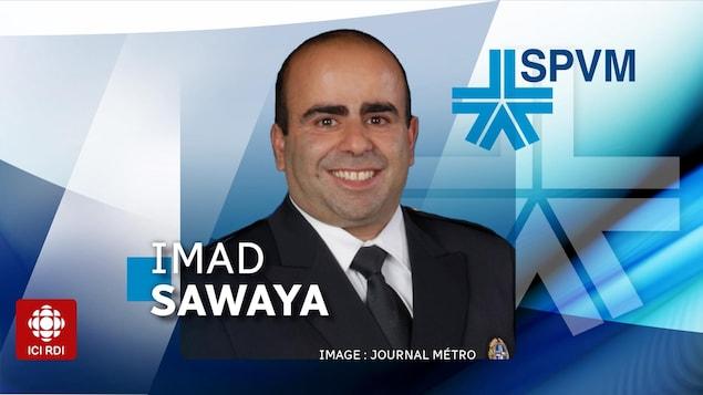 Imad Samaya, chef de cabinet du directeur du SPVM, a été suspendu de ses fonctions.