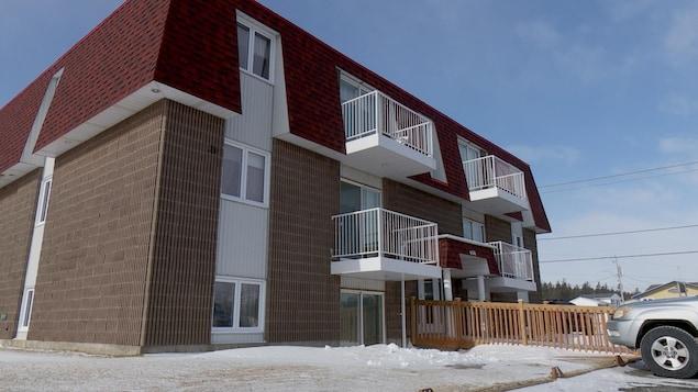 Immeuble à six logements.