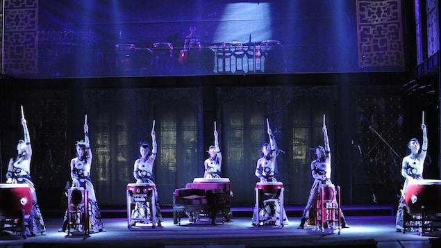Le spectacle de kung-fu «Immortal Chi»