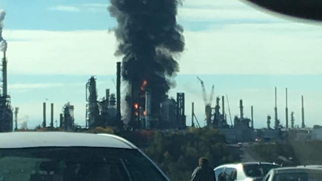Explosion dans une raffinerie — Canada