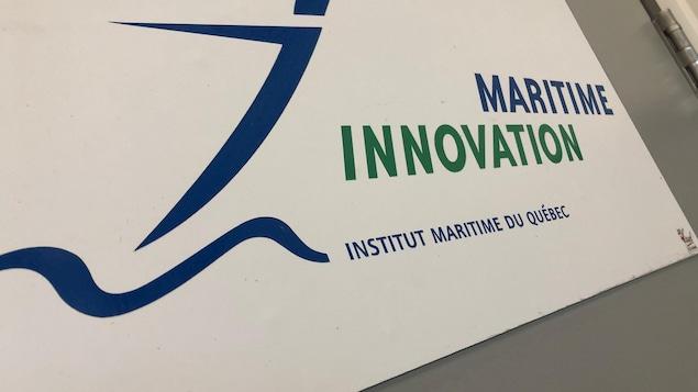Le logo d'Innovation maritime.