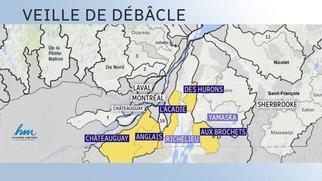 Bulletin hydrométéorologique d'Hydro Météo