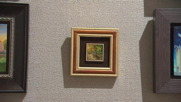 Les tableaux présentés à l'Internationale d'art miniature de Lévis ne peuvent excéder 10 centimètres pas 7,5 centimètres