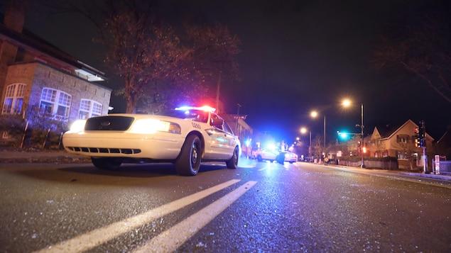 Des autopatrouilles de la police de Québec