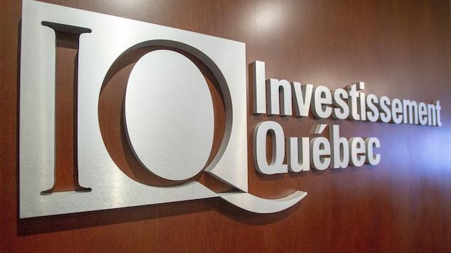 Le logo d'Investissement Québec.