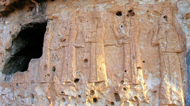 Vestiges néo-assyriens en Irak.