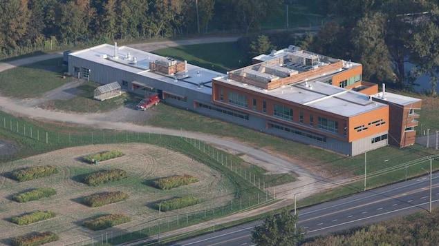 Bâtiment de l'Institut de recherche et de développement en agroenvironnement, à Saint-Bruno-de-Montarville.