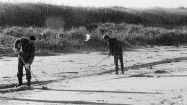 Naufrage de l'Irving whale en 1970
