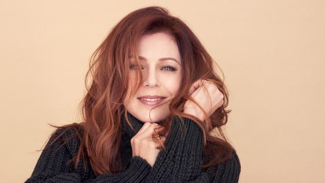 La chanteuse Isabelle Boulay.