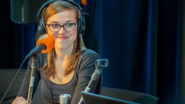 La journaliste Isabelle Larose.