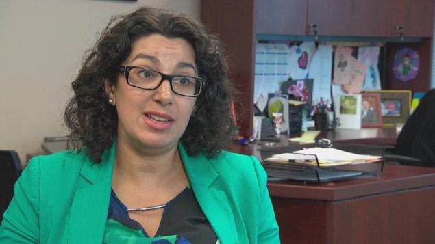 Isabelle Roy en entrevue à Radio-Canada