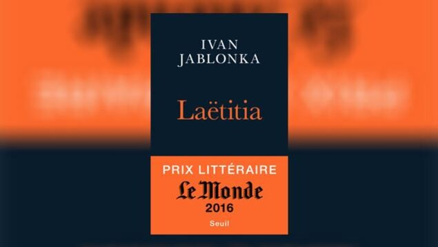 La couverture de «Laëtitia», d'Ivan Jablonka